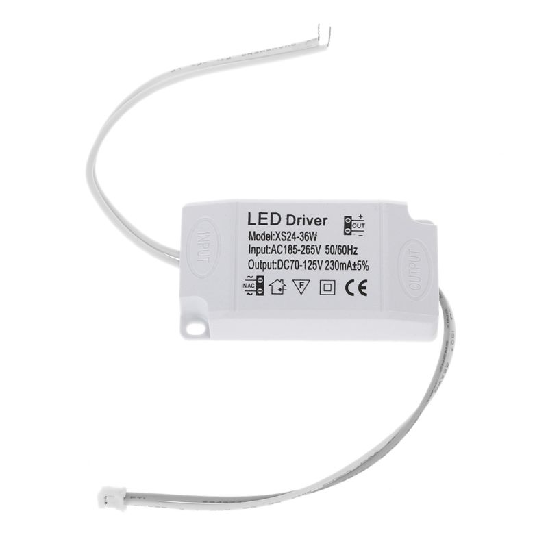 220V LED Constant Current Driver Output 24-36W Power Supply Adapter For LED Driver