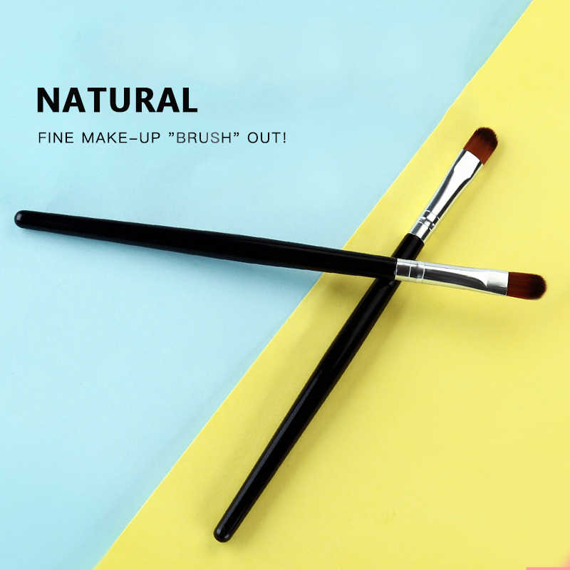 Lidschatten Pinsel Lidschatten Blending Eyeliner Wimpern Augenbrauen Make-up Pinsel Lange Pol Multi-funktion Concealer Pinsel dropship