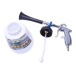 Image 5 - Air pulse device Tornado pneumatic dust gun car interior cleaning gun portable air gun (US interface) with brush head