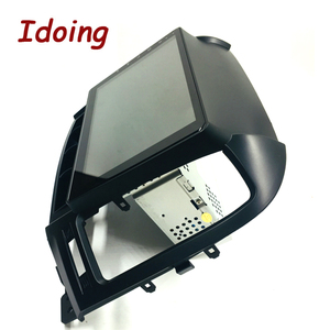 "Image 5 - Idoing 9 ""1Din Android Auto Radio Multimedia Stereo Audio Player Navi GPS Für Hyundai Santa Fe 2 2006 2012 4G + 64G Octa Core DSP"