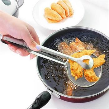 1 sztuk akcesoria kuchenne Cozinha ze stali nierdzewnej smażone jedzenie oleju Scoop przyrząd kuchenny durszlak akcesoria domowe narzędzia kuchenne-s tanie i dobre opinie WSOMIGO CN (pochodzenie) Oil spoon CE UE s300 Ekologiczne Na stanie STAINLESS STEEL Owoców i warzyw narzędzia Kitchen accessories