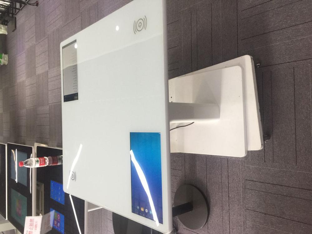 32 43 47 55 inchLCD Wifi цифровой ПК buit в настольные игры сенсорный экран киоск беспроводной зарядной стол