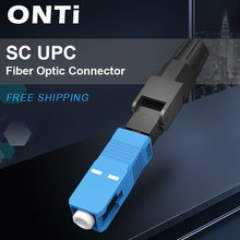 ONTi 400pcs משובץ SC UPC סיבים אופטיים FTTH מצב יחיד SC מחבר מהיר SC מתאם שדה הרכבה