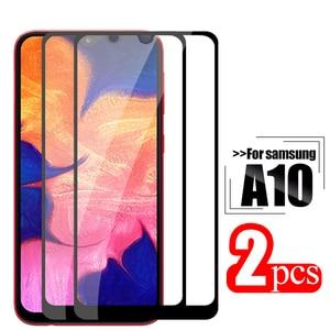 Image 1 - Закаленное стекло 2 шт. для samsung galaxy a10, защитное стекло на samsung samsun a 10 10a a105 a105F, защита для экрана