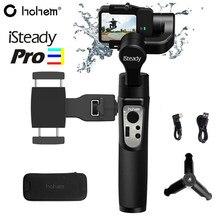 Hohem isconstante pro 3/pro 2 à prova de respingo estabilizador cardan handheld de 3 eixos para gopro hero 8/7/6 dji osmo rx0 sjcam câmera de ação