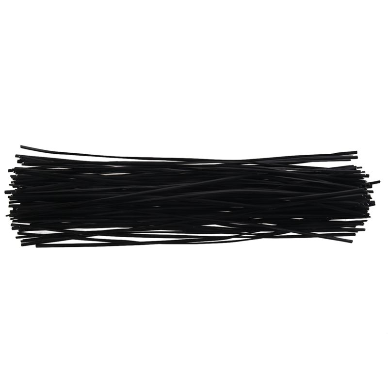 1000//500pcs Reusable Twist Ties Shell Package Cable Wires Black White Plastic UK