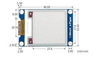 Image 5 - Waveshare 200x200 1.54 אינץ E דיו תצוגת מודול אדום/לבן/שחור שלושה צבע e נייר עבור פטל Pi / STM32 SPI ממשק