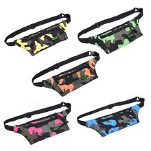 Pouch Bum-Bag Fanny-Pack Belt Money-Waist Comouflage Travel Holiday Boys Walking Girls