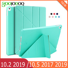 Para ipad 9.7 2018 caso ipad 5th 6th 7th geração ipad ar 2 1/10.2 2019 silicone macio funda para ipad 10.2 2019 caso
