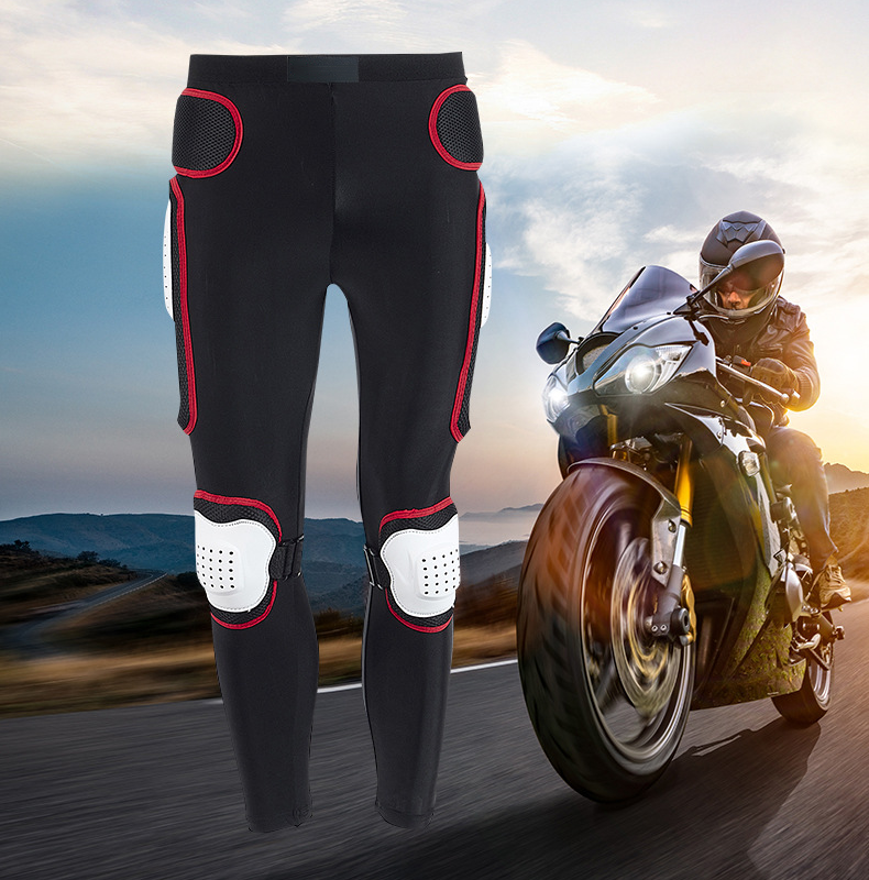 NEW Motorcycle Motocross Armor Pants Long Armor Motorcycle Pants Ski Skating Cycling Motocross Protective Gear Hip Protector