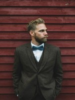 New Arrivals Classic Men Suit Tweed Jacket Winter Vintage Formal Wedding Suits For Men 3 Pieces Man Business Blazer