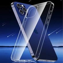 TOTU for iPhone 12 Pro Max Transparent TPU Cases