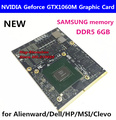 Originele Nieuwe N17E-G1-A1 Nieuwe Gtx 1060M Grafische Kaart MXM3.0 GTX1060M Met X-Beugel Voor Dell Alienware Msi GT80 hp Clevo