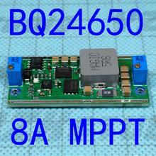 Piombo acido della batteria al litio solare ad alta potenza multi funzione di ricarica modulo ZC BQ24650 MPPT 8A 100W