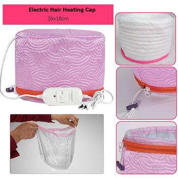 3 Modes Adjustable Hair Steamer Cap Dryers Electric Hair Heating Cap Hat Salon Home Use DIY Hair SPA Nourishing Styling Tools 4