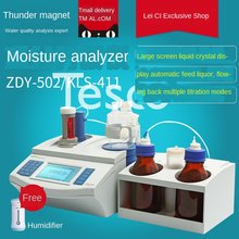 Analisador de umidade karl fischer ZDY-502 KLS-411 traço analisador de umidade