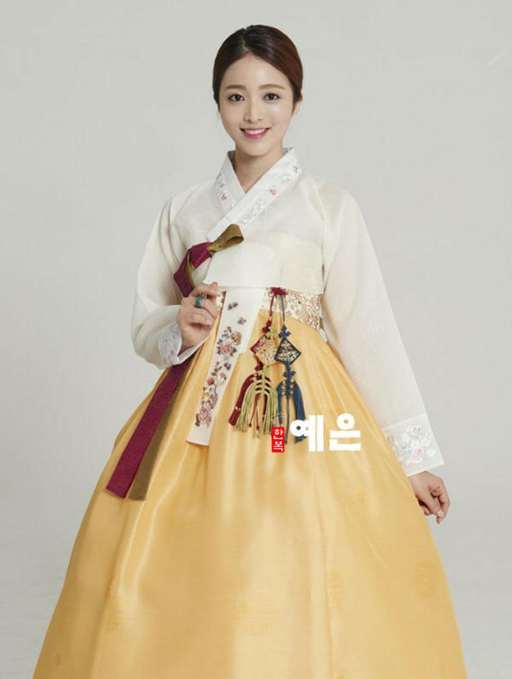 2020 Hanbok Dress Hanbok Dress Custom Made Korean Modern Woman Hanbok High Waist Hanbok