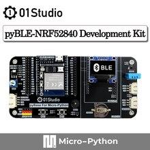 01Studio pyBLE - NRF52840 модуль Bluetooth макетная демо-плата с низким энергопотреблением микропитон схема питон IOT Беспроводная