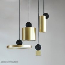 modern pendant lights Nordic living room designer pendant lamps corridor bar cafe model room Kitchen Home decor Light Luminaire