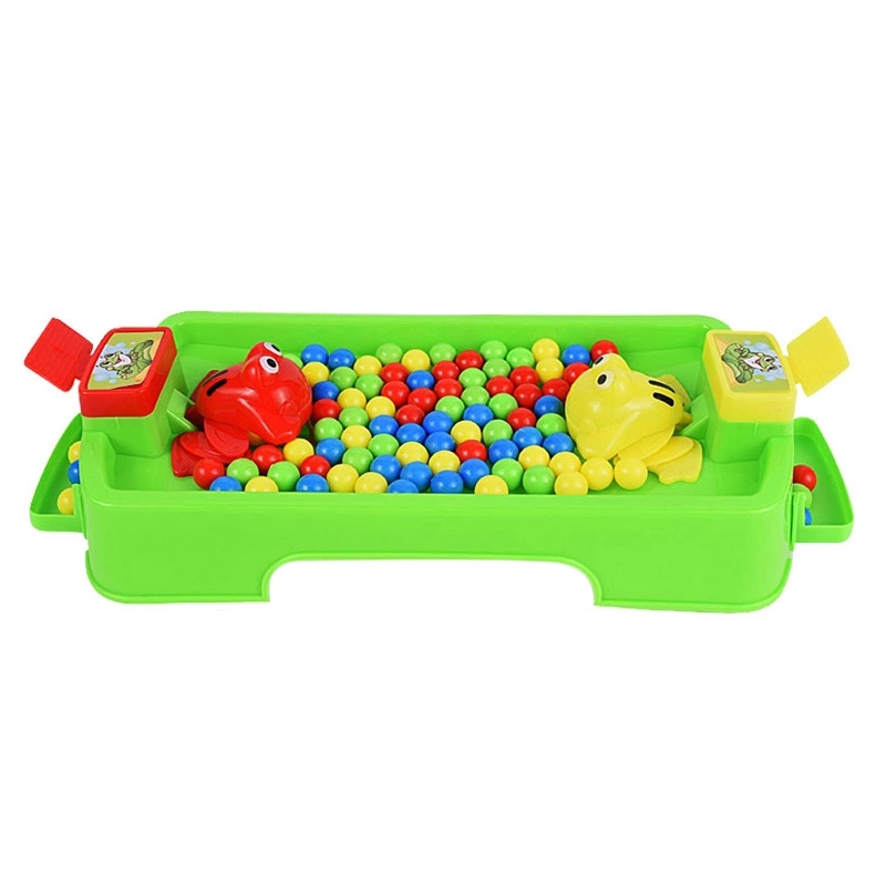 Feeding Frog Family Party Game Popular Toys For Children Parent-Child Interaction Funny Toys Novelty Gag Gifts For Kids,A