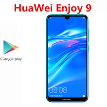 Consegna rapida DHL HuaWei Y7 Pro 2019 goditi 9 4G LTE Smart Phone Face ID Snapdragon 450 Android 8.1 4GB RAM 128GB ROM 6.26