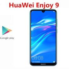 DHL Schnelle Lieferung HuaWei Y7 Pro 2019 Genießen 9 4G LTE Smartphone Gesicht ID Snapdragon 450 Android 8,1 4GB RAM 128GB ROM 6.26