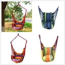 2020NEW Travel Camping Hanging Hammock Home Bedroom Swing Bed Lazy Chair for Garden Indoor Outdoor Fashionable Hammock Swings swing chair rede camping hammock hammock swings