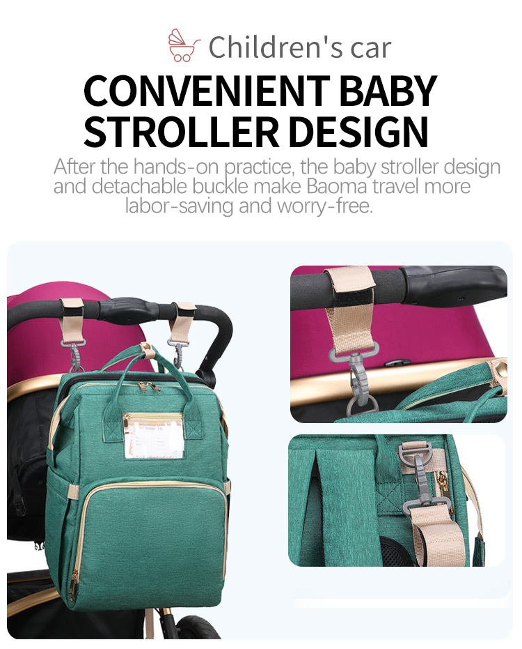 Umaubaby Pre-design Baby Diaper Bag Waterproof Maternity Bag For Stroller Nappy Bag Large Capacity Multifunction Mummy Bags New