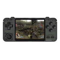 Rk2020 Retro Console 3.5Inch Ips Sn Portable Handheld Game Console Ps1 N64 Games Video Game Player(32G)