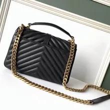 Women Casual Faxu Leather Handbag Shoulder Bag - Magenta