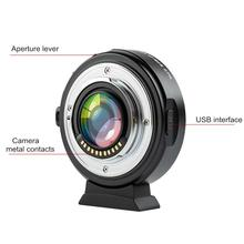 цена на Viltrox EF-M2II 0.71x Auto Focus Lens Adapter Ring For Cano-n EF to M4/3 Camera Speed Booster Adapter Focal Reducer lens Adapter