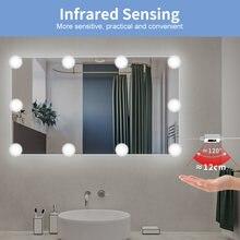 Светодиодный зеркальный светильник usb с регулируемой яркостью