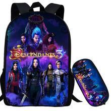 Descendants Backpack for Teenage Boys Girls Student School B