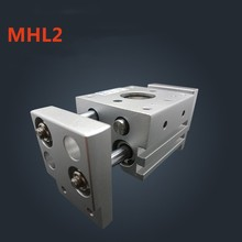 MHL2 Series SMC Type Gripper Cylinder MHL2-20D Double Acting Pneumatic Air Gripper Parallel Cylinder MHL2 20D Bore 20 mm 1pcs mhz2 20d 20mm bore smc type parallel style air gripper cylinder pneumatic mini cylinder brand new