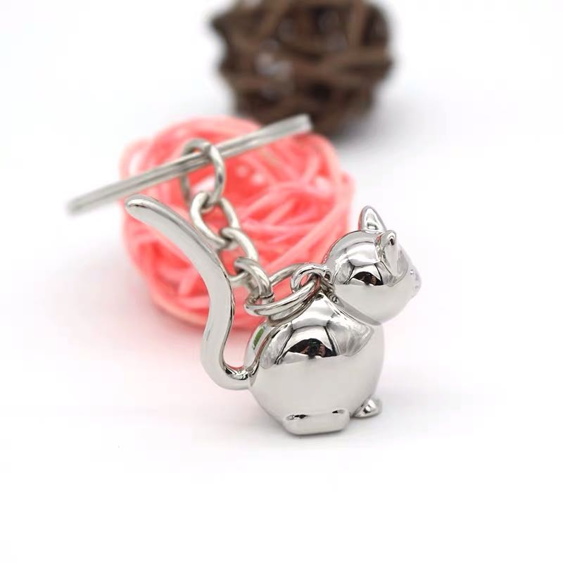 3D cat keyring (3)