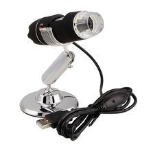 2MP 1000X 8LED USB Portable Digital Microscope Endoscope Camera +Stand.. цены онлайн