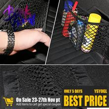 Net Mesh Trunk Car-Organizer Tidying Goods Auto-Accessories Storage Back-Stowing Rear-Seat