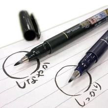 Ручка кисть для каллиграфии tombow 1 шт маркер мягкая ручка