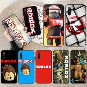 NBDRUICAI Popular Game Roblox Logo Newly Arrived Black Cell Phone Case for Redmi Note 8 8A 7 6 6A 5 5A 4 4X 4A Go Pro Plus Prime(China)