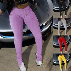 Stacked Leggings Trousers Femme Women Joggers