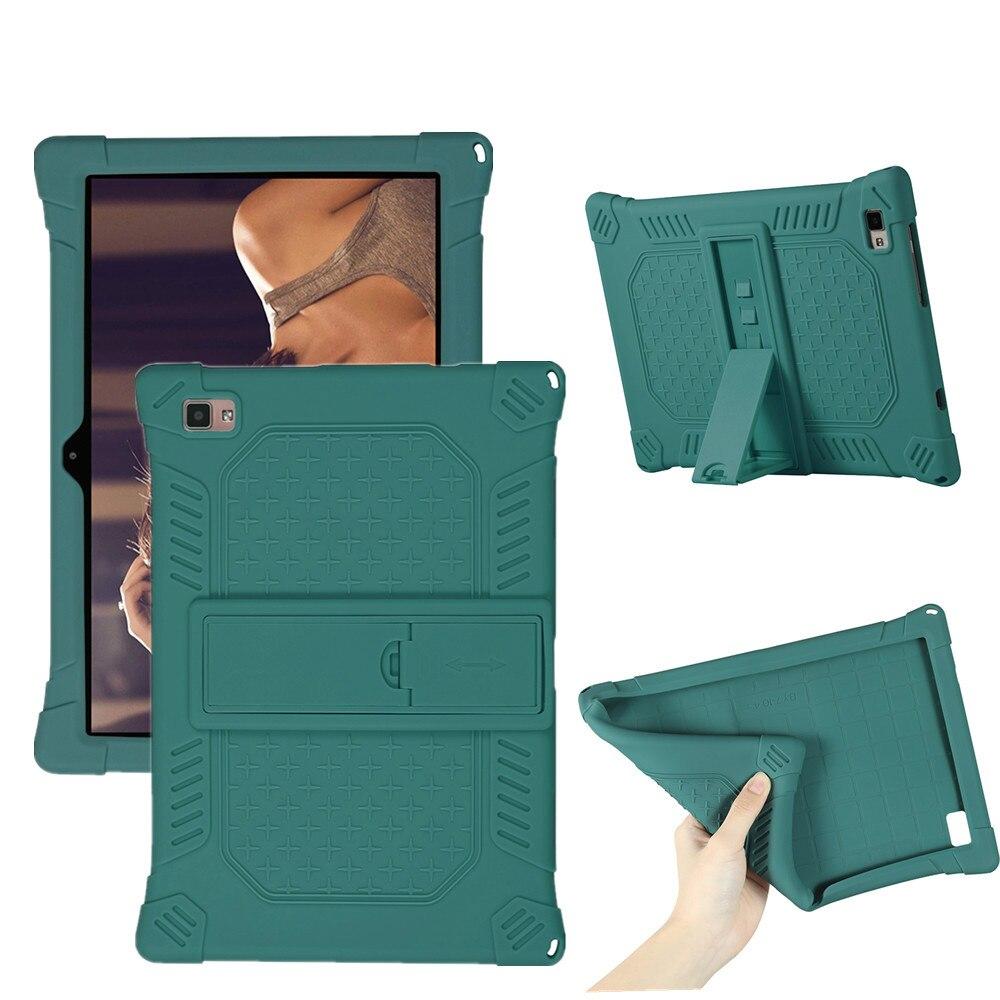 """Housse en silicone souple pour Mediacom SmartPad 10 Azimut2 M-SP1AZ2S M-SP1AZ2T 10.1 """"tablette PC béquille Funda"""