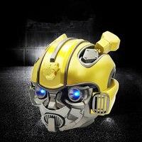 Iron man speaker wireless Portable Bluetooth speaker subwoofer Marvel cartoon Mini soundbox with TF USB computer speaker
