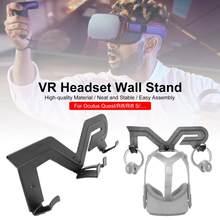 Para oculus quest 2 vr controlador suporte vr fone de ouvido montagem na parede rack suporte para oculus rift-s htc vive playstation vr acessórios