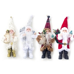 1PCS Christmas Dolls Xmas Tree Decor New Year Ornament Reindeer Snowman Santa Claus Standing Doll Decoration Merry Christmas