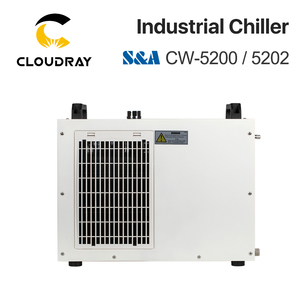 Image 3 - Cloudray S&A CW5200 CW5202 Industry Air Water Chiller  for CO2 Laser Engraving Cutting Machine Cooling 150W Laser Tube