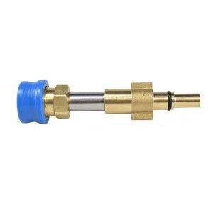 """Image 4 - Laleyenda g1/4 """"bocal de liberação rápida montagem kit conversor conector para sabão espuma arruela arma para KarcherK2 K7/lavor/nilfisk/yili"""