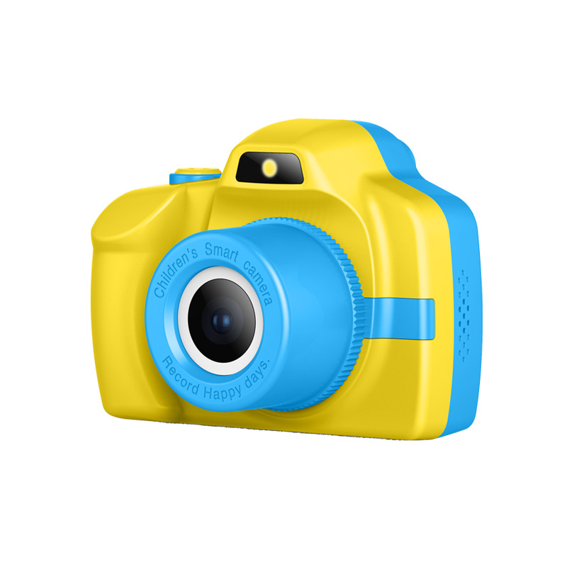 P20 HD Children's Contact Camera Digital Toy Can Take Pictures Photographic Video Flash / Filter / Mp3 / Big Stickers