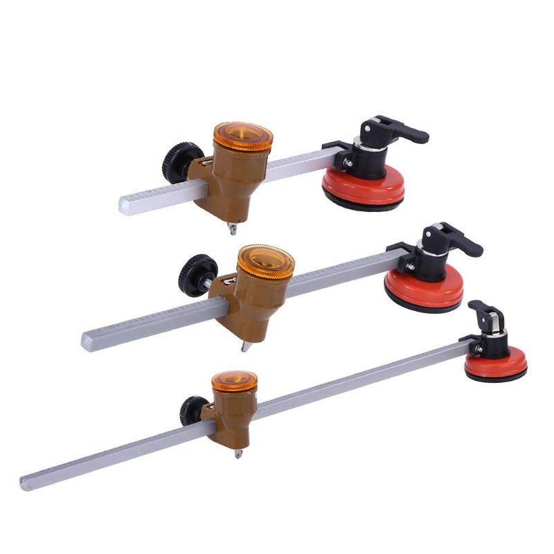 Multi-function Roller Type Circular Glass Cutter Woodworking Cutting Tool 40/60/100CM Rolling Round Glass Cutter