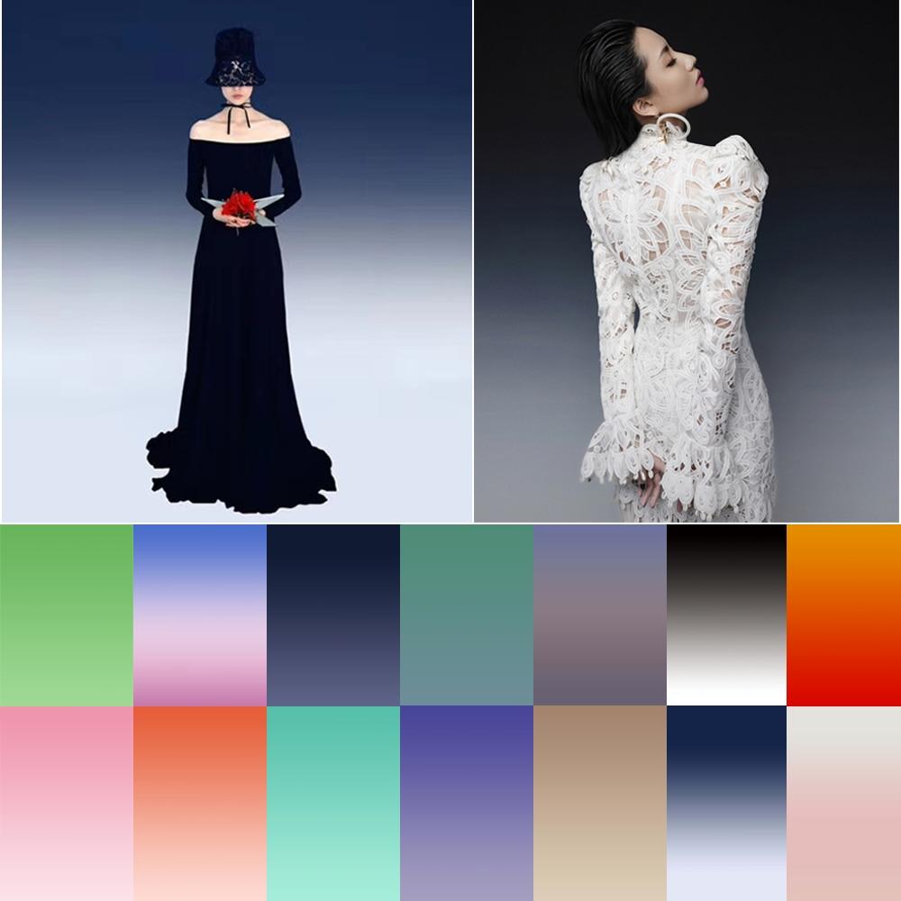 Solid Color Photography Background Solid Color Gradient Backdrop for Kids Adult Portrait Photographic Studio Photo Backgrounds