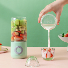 Portable Juicer Handheld Blender Mixer Usb Food-Processor Electric Kitchen 6-Blades Fruit-Cup